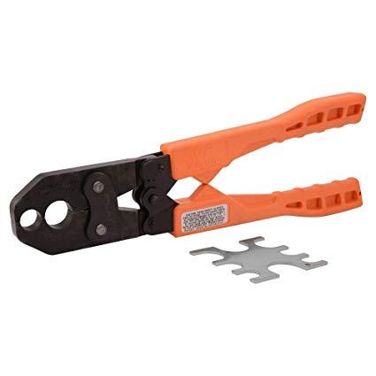 utilize PEX crimp tool